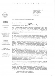 lettre au 1er ministre - LBD Kann44